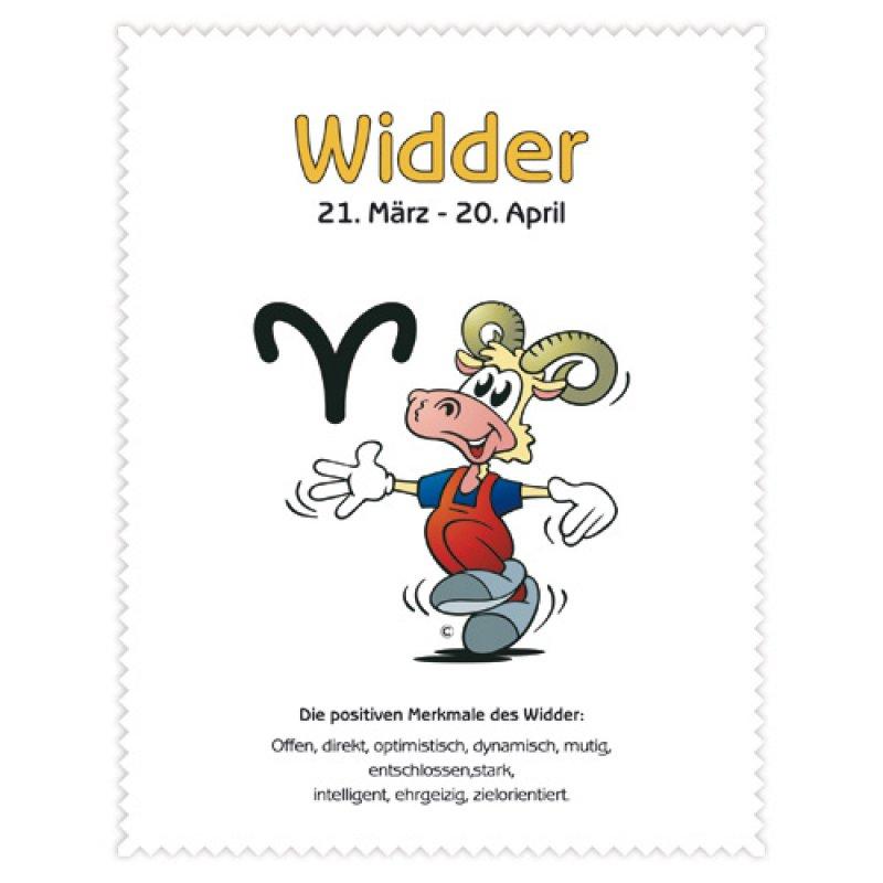 Astrolux - Microfasertuch Sternzeichen - WIDDER