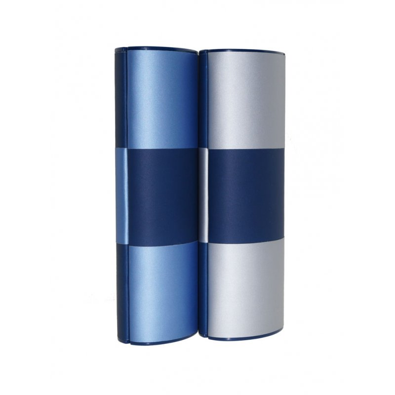 Zauberetui Change blau Medium lang bicolor gelb//hellblau Logic