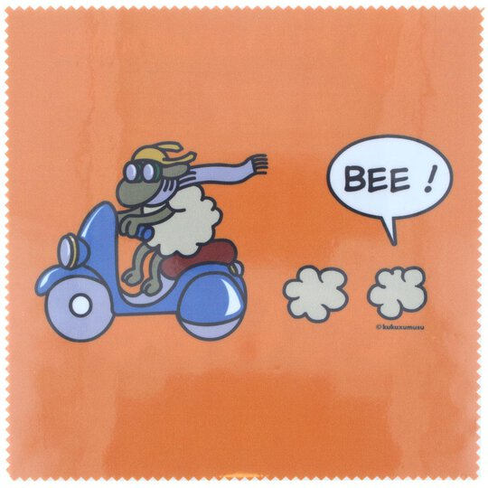 La Kelnet Microfasertuch - Comic - Bee!  orange