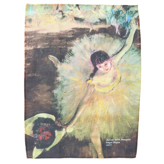 Edgar Degas - Dancer with Bouquet | Edles Brillenputztuch...